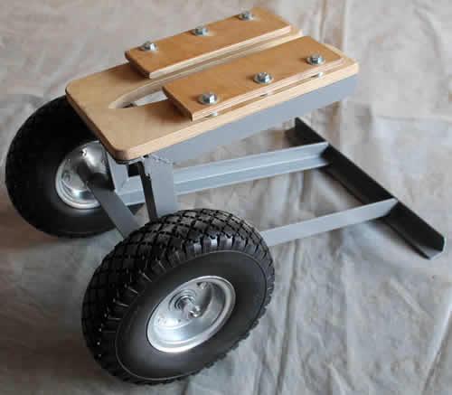 самодельные тележки для подвесных моторов