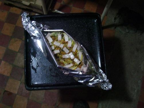 Блюдо из судака 'Донская чаша'